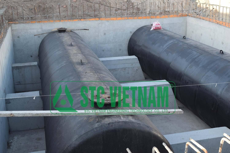 Bồn dầu máy phát điện 30.000 lít