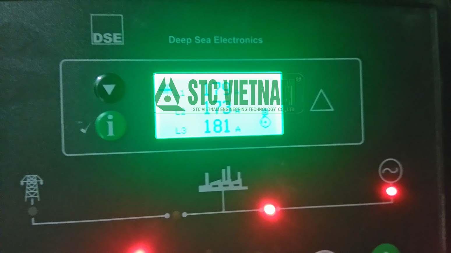 Rental of fake load generator 630 Kva