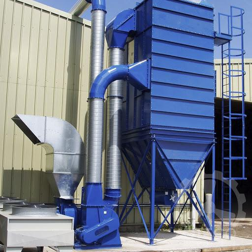20,000 m3 factory air filtration system