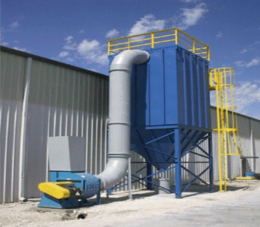 Dust collection plant part 1