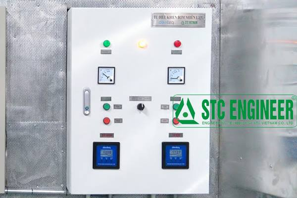 Oil pump control cabinet (02 basins)