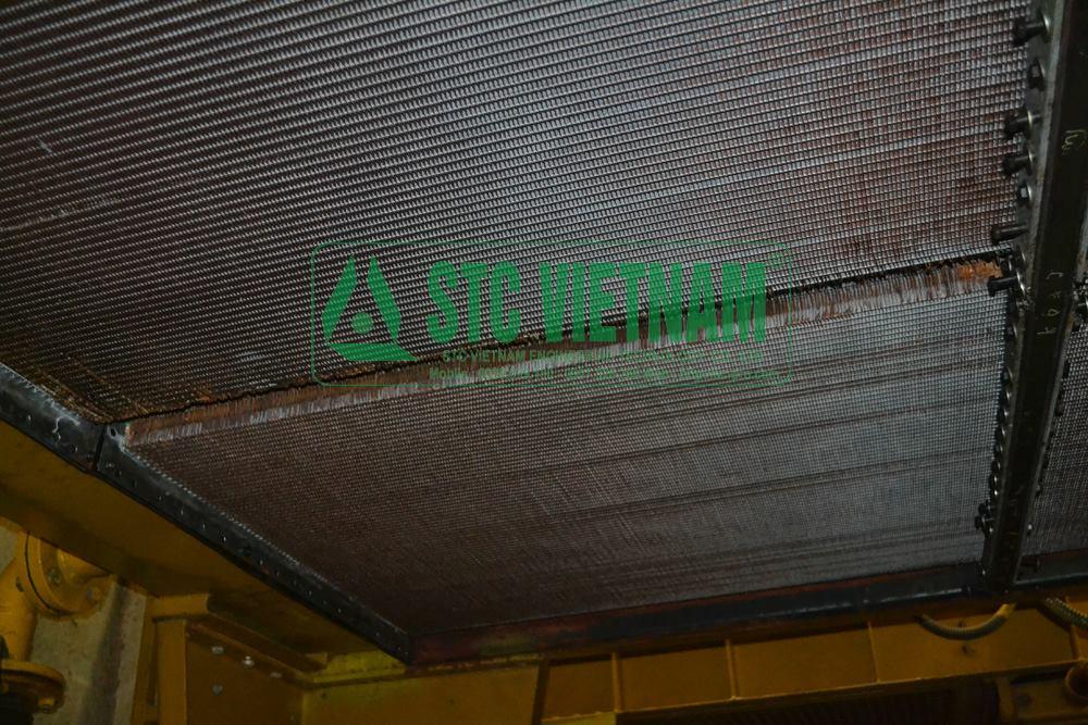 Repair of cat water tank generator 3518