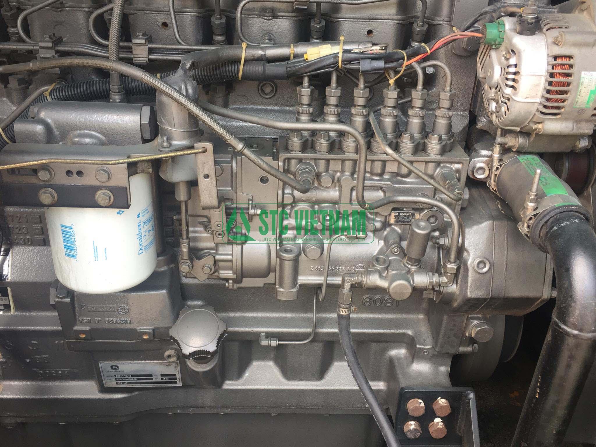 Johndeere 250 Kva Generator Set