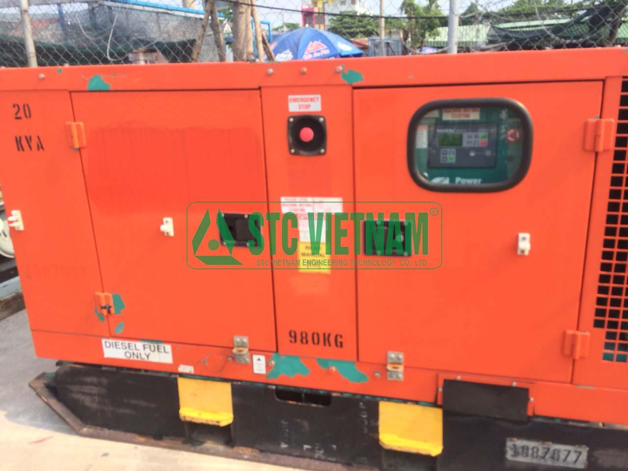 Cummins Generator 25 Kva (Used)