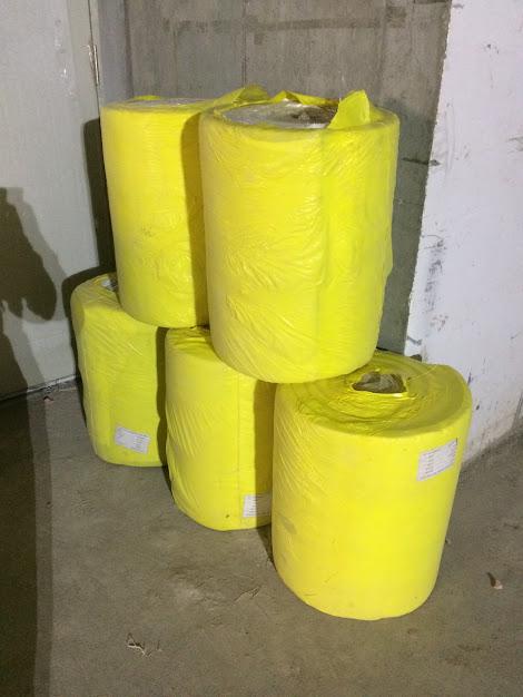 Rockwool shenzhen roll 120 kg / m3
