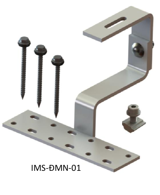 Accessories mounted on tile roofs