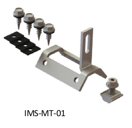 Accessories to connect corrugated iron roof