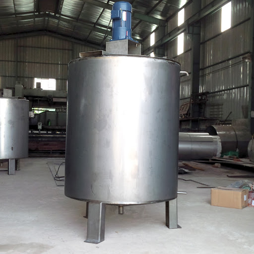 Stainless steel oil tank 2 Block (Inox Posco) 2B