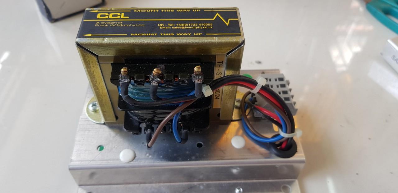 Charge Generator Perkins 24 Vdc